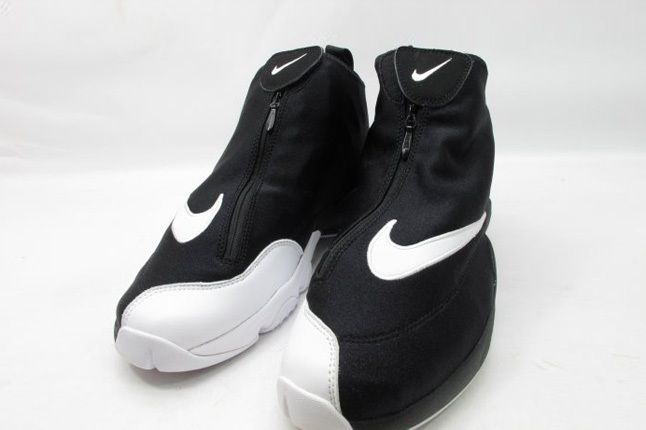Nike Air Zoom Flight The Glove Sl Blk Wht Toe Detail Zipped 1
