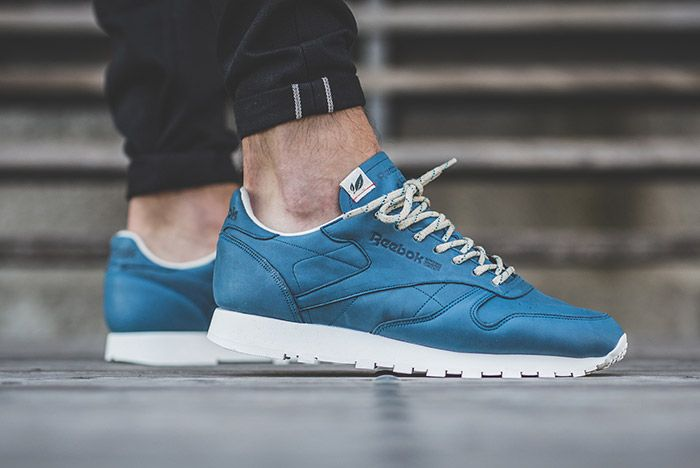 Reebok Classic Leather Eco Botanical Blue 1