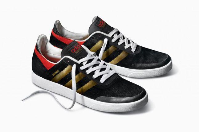 Adidas Busenitz Adv Black Gold Pair 2013 1
