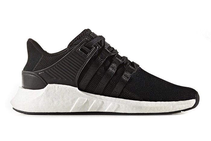 Adidas Eqt Support 93 17 Black White 1