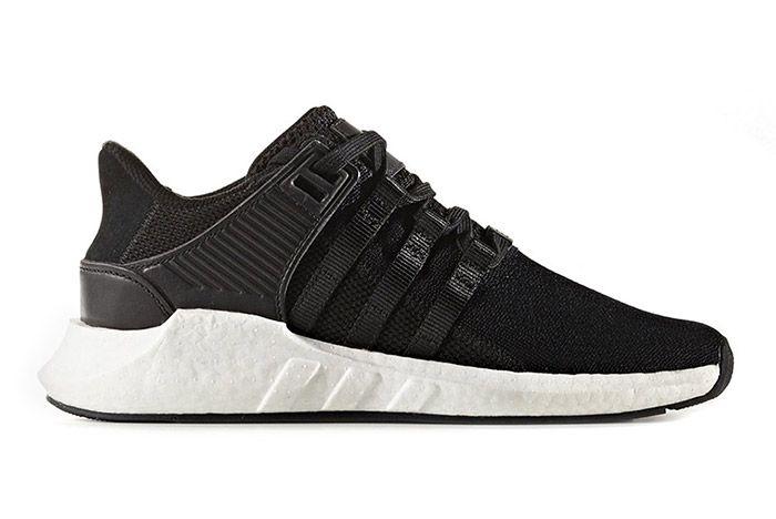 Adidas Eqt Support 93 17 Black White 1