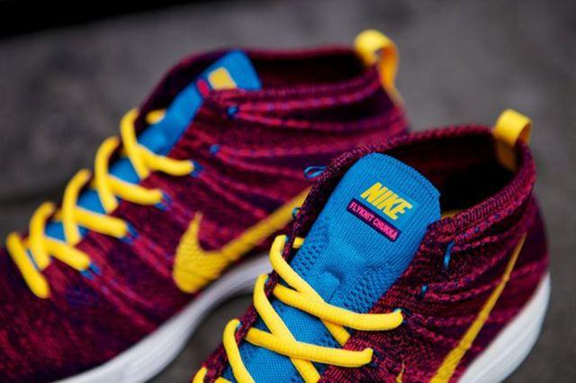 Nike Lunar Flyknit Chukka Grand Purple 10