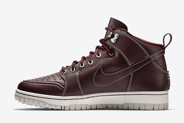 Nike Dunk High Sneakerboot Mahogany 3