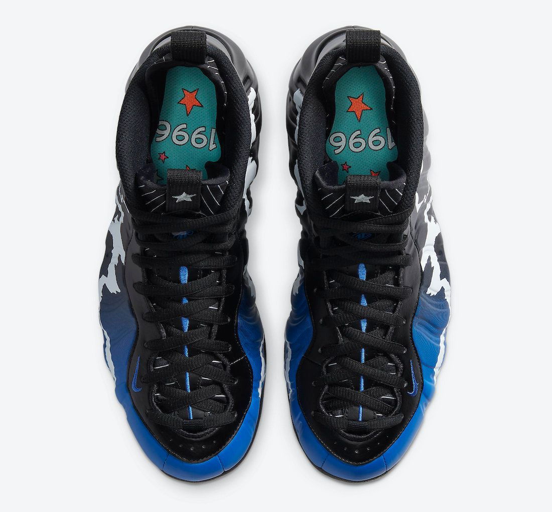 Nike Air Foamposite One 1996 All Star Game Top