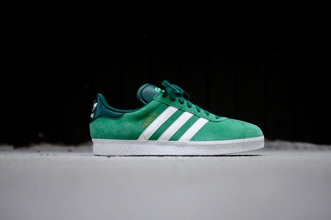 Adidas Gazelle Ii Green Profile 1