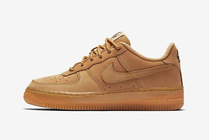 Nike Air Force 1 Low Gs Flax5