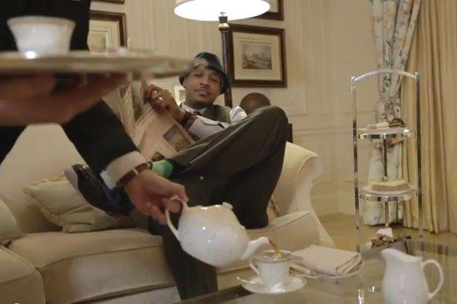 Dave White X Carmelo Anthony Tea For Two Pouring Tea 1