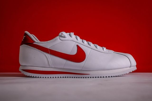 Nike Cortez White Varsity Red 3