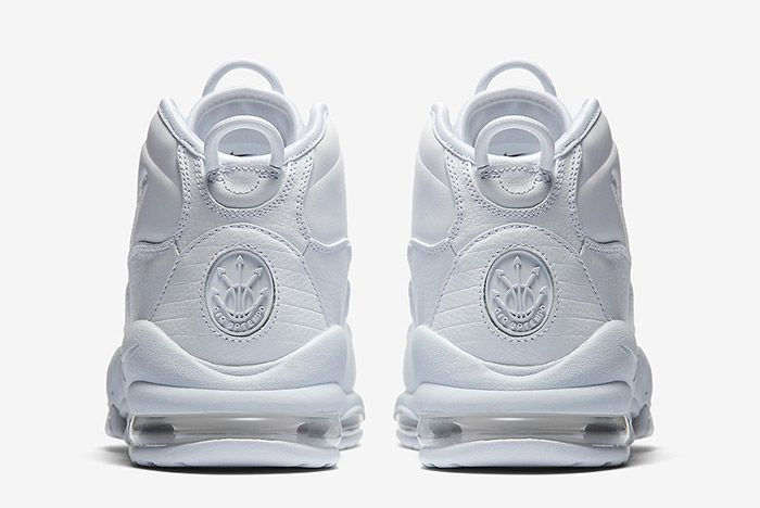 Nike Air Max Uptempo Triple White 3