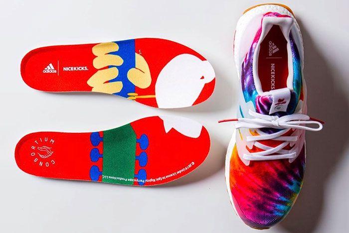 Nice Kicks Adidas Ultra Boost Woodstock Tie Dye Release Date 5 Insoles