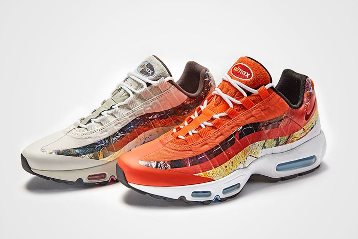 Size X Dave White X Nike Air Max 95 Collection A