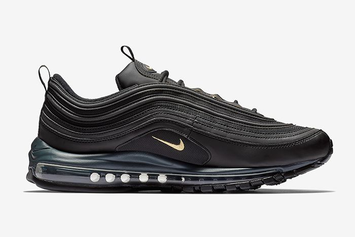 Nike Air Max 97 Black And Gold 4