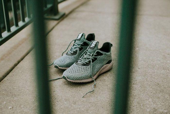 Adidas Alphabounce Trace Green 2