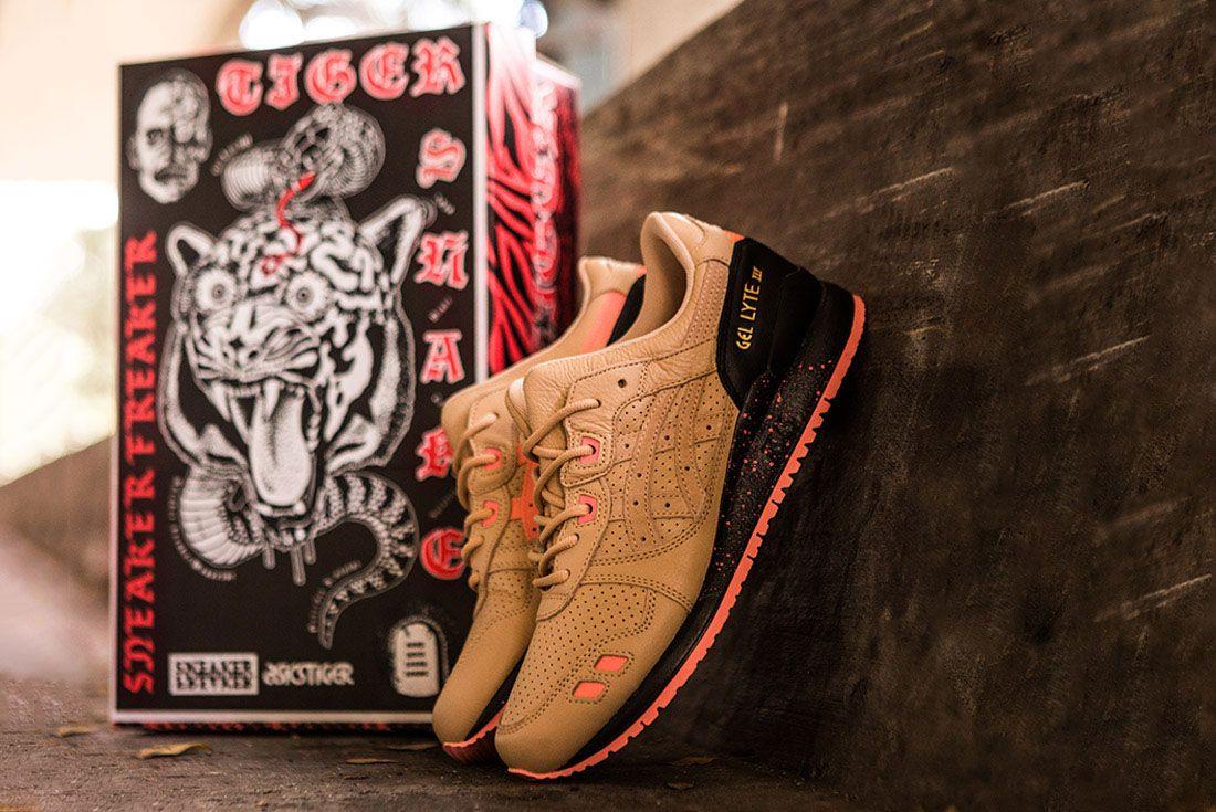 Sneaker Freaker Tiger Snake Asics Gel Lyte Iii Best Ever Feature
