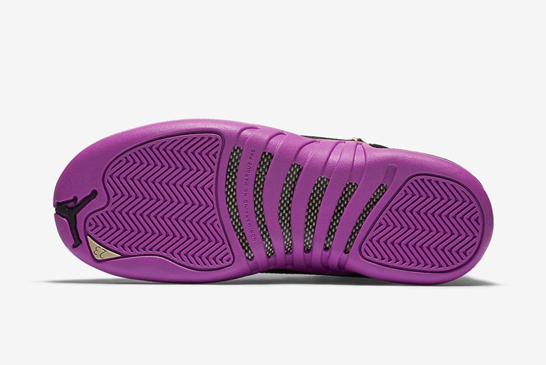 Air Jordan 12 Gs Violet 6