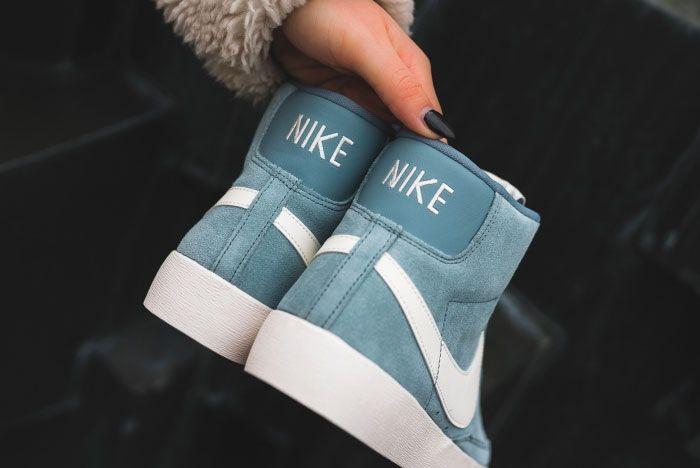 Nike Blazer Monsoon Blue Heel