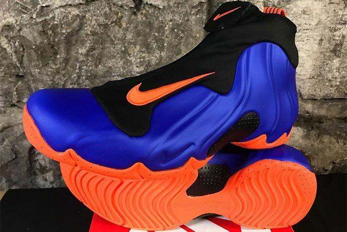 Nike Air Flightposite Knicks Front Angle Shot 1