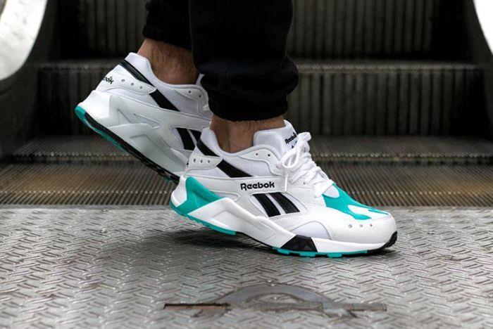 Reebok Aztrek Teal Black White 1 Sneaker Freaker