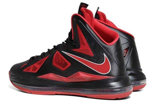 Nike Lebron X Black Red 2