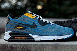 Nike Air Max Lunar 90 Jacquard Grey Blue Thumb