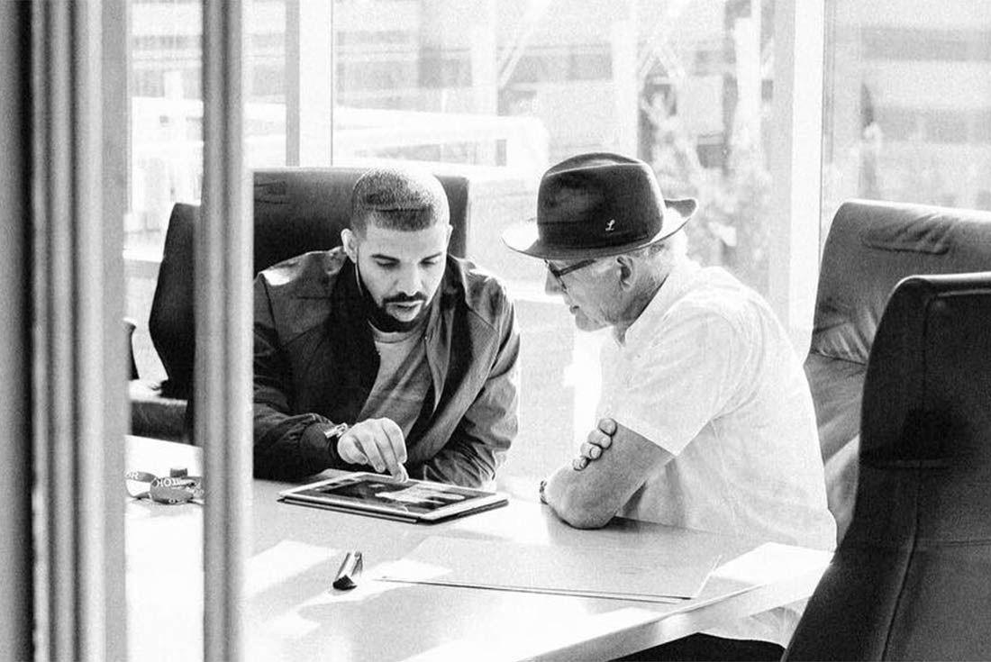 Drake Meets Nike Execs 1