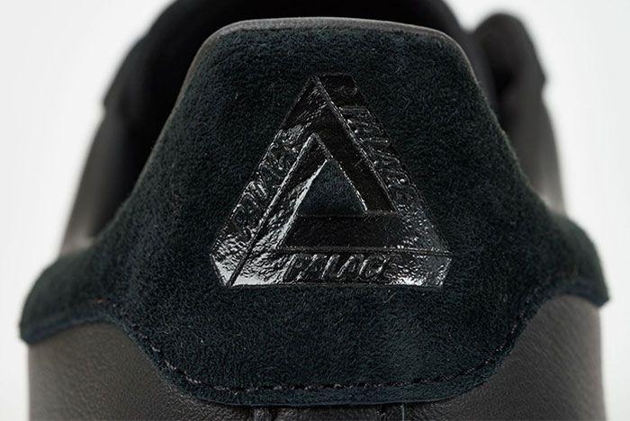 Adidas Palace Superstar Black Heel