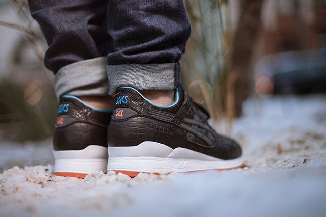Asics Gel Lyte 3 Miami Vice Black Bump 2
