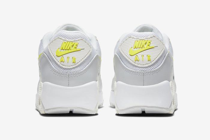 Nike Air Max 90 Wmns Lemon Venom Heels