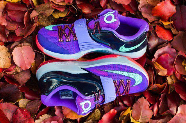 Nike Kd Vii Cave Purple Hyper Grape Magnet Sneaker Politics Lightning 534 53996535 1 1024X1024