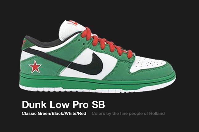 Nike Dunk Sb Heineken 2003 1