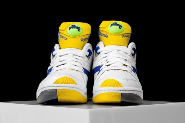 Reebok Court Victory Pump Ion Blue 2