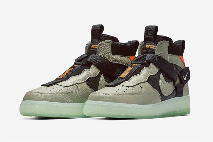 Nike Air Force 1 Mid Utility Spruce Fog Aq9758 300 Release Date Price 4