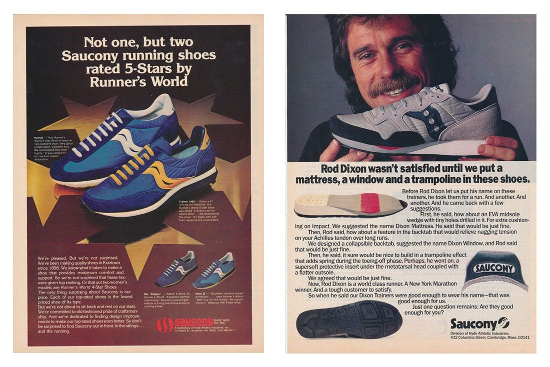 Material Matter Saucony Grid Advertisements 2