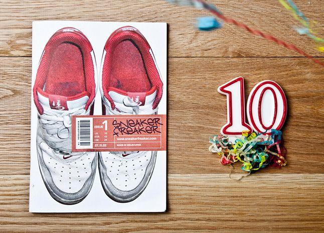 Sneaker Freaker 10 Years 1