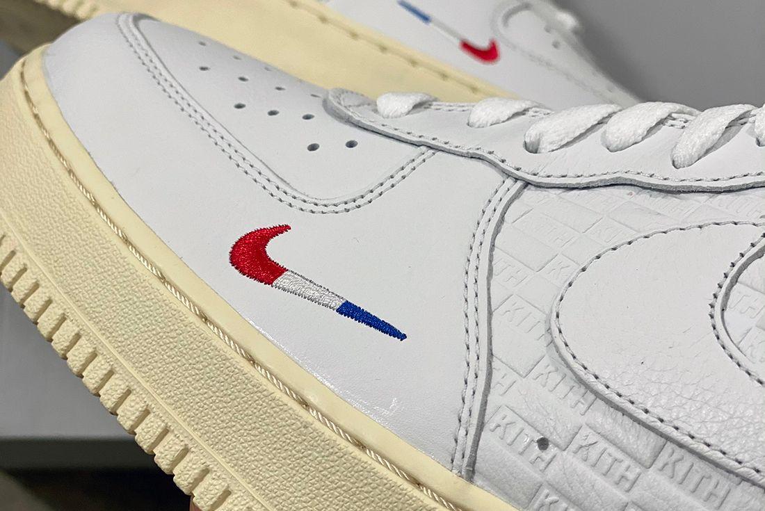kith nike air force 1 paris sneaker freaker