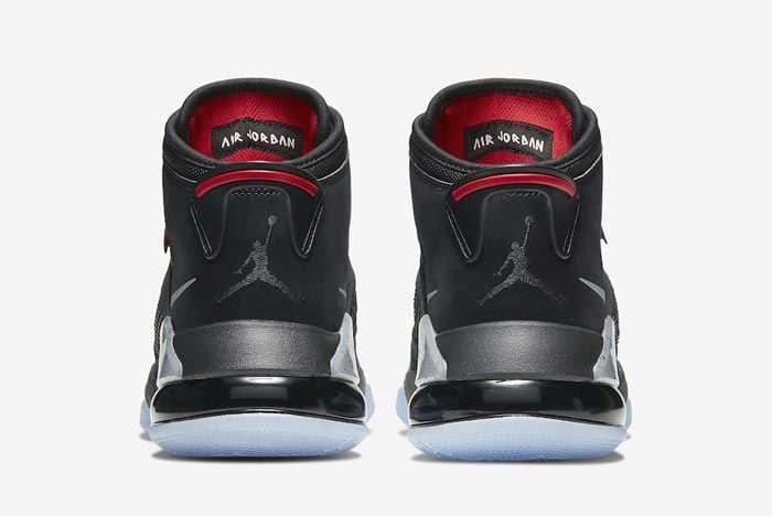 Jordan Mars 270 Black Metallic Heels