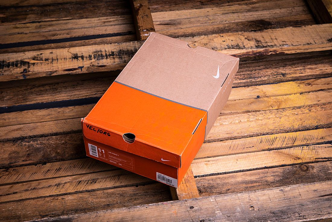 Late 1990s to Mid 2000s Nike Shoebox