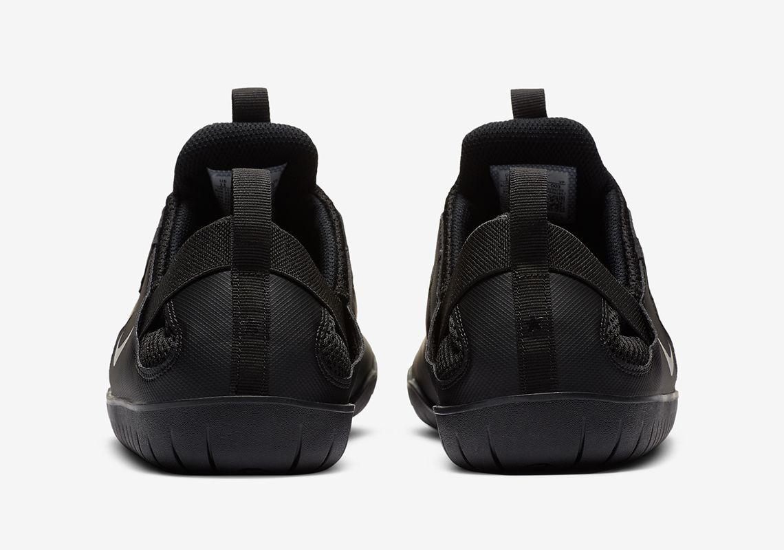 Nike Air Zoom Pulse Triple Black Heel