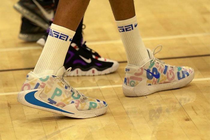 Nike Zoom Freak 1 Mvp Pe On Court