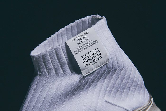 Maison Margiela Knit Sock Boot White 1