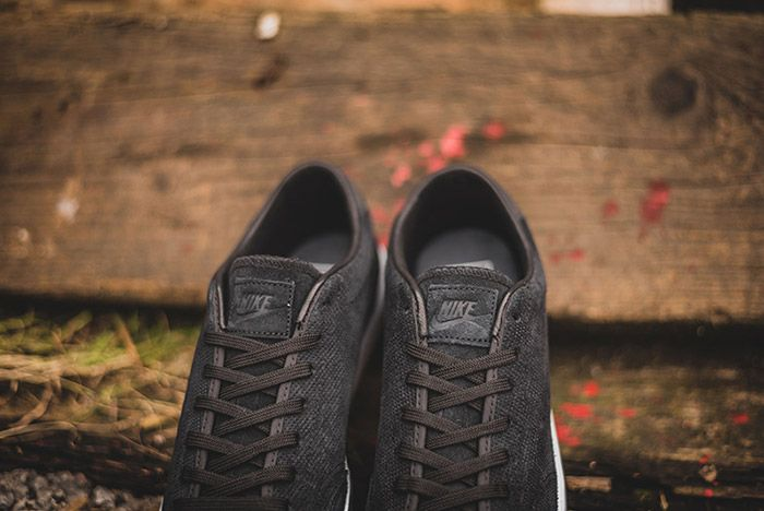 Nike All Court 2 Low Black Suede 3