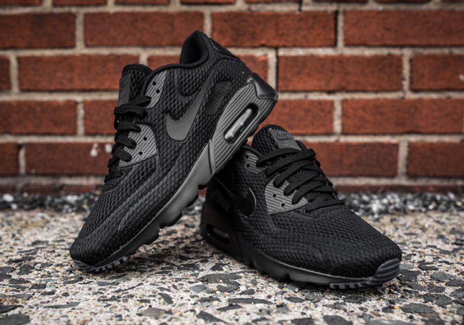 Nike Air Max 90 Ultra Br Triple Black4