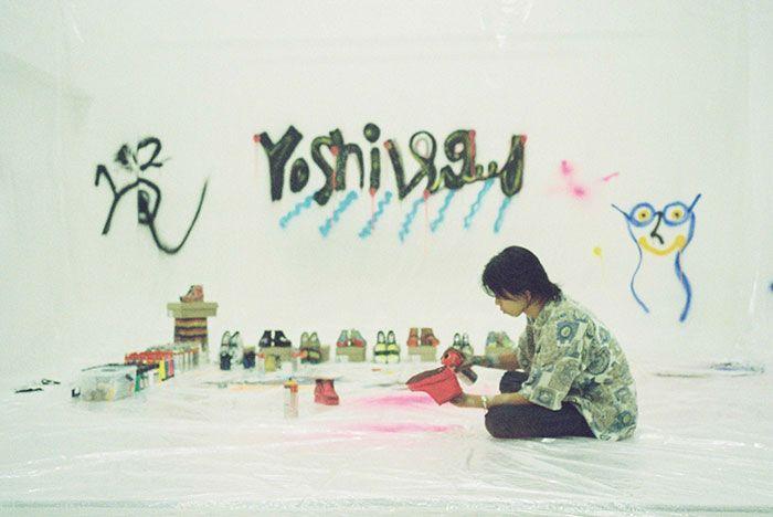 Yoshi Painting Clarks