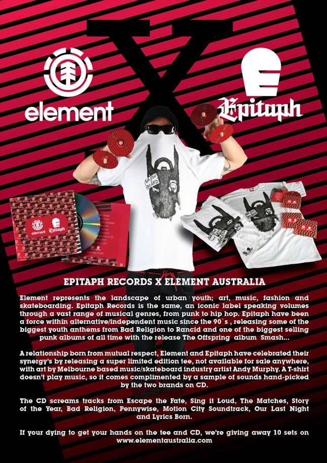 Epitaph Records X Element Australia 1