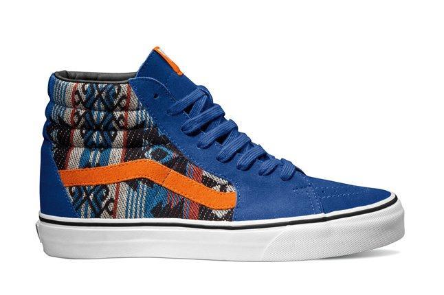 Vans Classics Sk8 Hi Suede Inca True Blue Fall 2013 1
