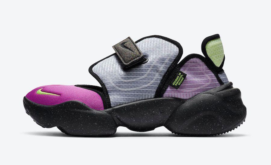Nike Aqua Rift Concord Green Spark Volt Left