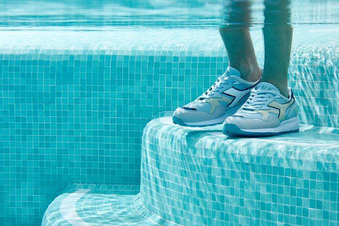 End Diadora N9002 Lido Sky Blue Lake 501 175459 65058 Release Date Pool On Feet