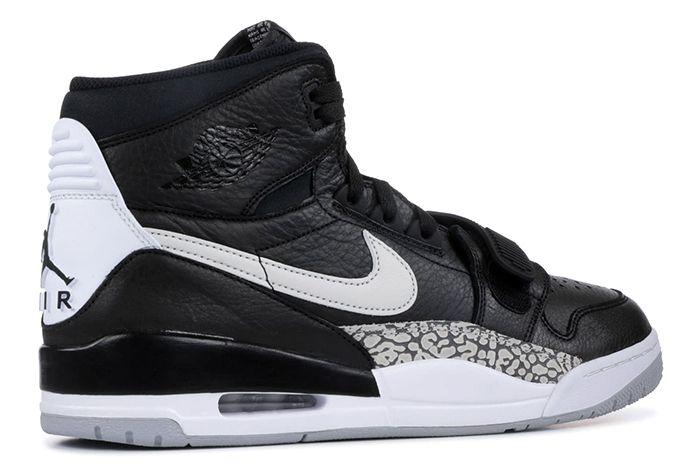 Jordan Legacy 312 Black Cement 3