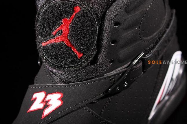 Air Jordan 8 Playoffs Tongue 1