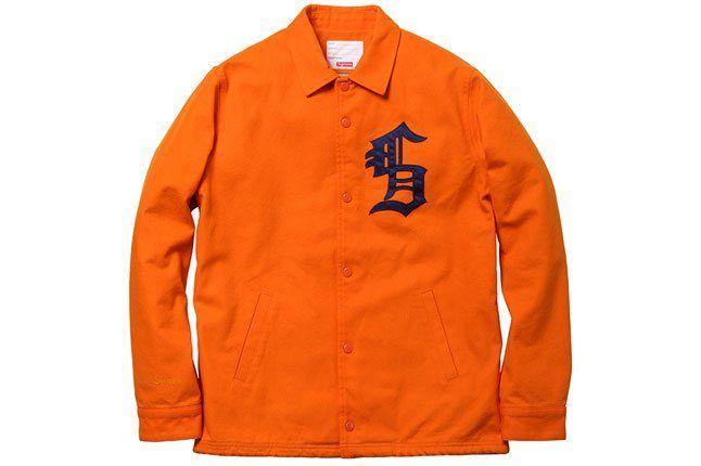 Supreme Orange Jacket 1
